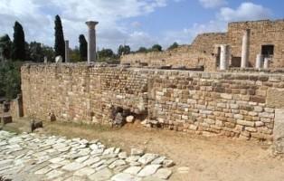 Tra le le rovine di Cartagine