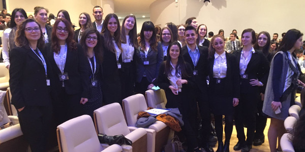 studenti veneziani ipegnatia Roma nel model united nations