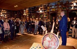 Fornace Orsoni, Venezia, patrimonio del suo mosaico. Cerimonia di presentazione pubblica.