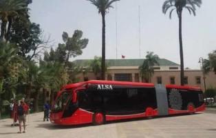 Bus elettrico Marrakech