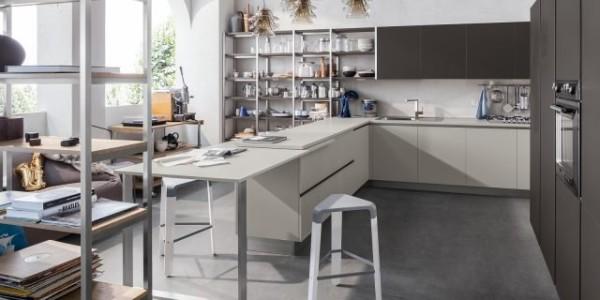 la cucina del futuro al salone del mobile e dell 39 abitare. Black Bedroom Furniture Sets. Home Design Ideas