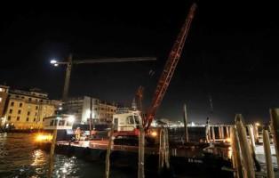 Cavo elettrico a Venezia