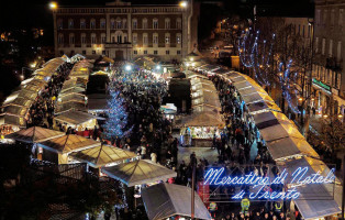inaugurazione Mercatini di Natale a Trento 2018 in piazza Fiera ©2018 ph Romano Magrone