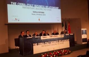Foto: Francesco De Filippo - Tavola rotonda ''The China-Italy business relationship - Partnerships building the future''.