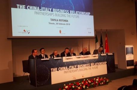 Foto: Francesco De Filippo - Tavola rotonda ''The China-Italy business relationship - Partnerships building the future''.