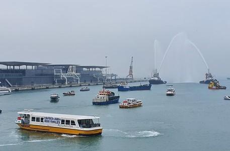 Manifestazione porto Venezia