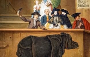 Ca' Rezzonico - Il rinoceronte 1751 - Pietro Longhi